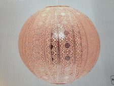 Moroccan Ball Ceiling Light Fitting Lamp Shade Modern Chandelier - 52467 Copper