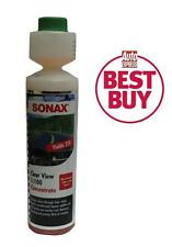 Sonax Clear View Screen Wash 1:100 Concentrate 250ml Makes 25 Litres Screenwash