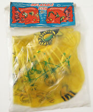 Vintage 1960'S Inflatable Vinyl Blow Up FISH Pool Party Retro Toy