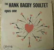 HANK BAGBY SOULTET lp OPUS ONE PROTONE HBS-133 NICE!