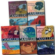 Inspector Montalbano Collection Andrea Camilleri 5 Books Set Vol 6 To 10 Pack