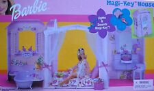 BARBIE MAGI-KEY HOUSE LIGHTS & SOUNDS, BIRDS, MUSIC BOX
