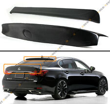 FOR 2013-15 LEXUS GS350 450H WD STYLE TRUNK LID + REAR ROOF WINDOW SPOILER COMBO