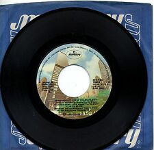 KURTIS BLOW disco 45 giri MADE in USA Throughout your years PART 1 & II  1980