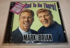 You Had to Be There! by Mark & Brian (2-CDs, 1997, Oglio Records) New Unopened