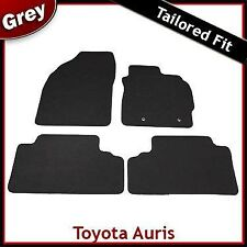 Toyota Auris Mk1 E150 2006-2012 Fully Tailored Fitted Carpet Car Mats GREY