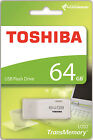 TOSHIBA PENDRIVE USB 2.0 64GB CHIAVETTA PENNA 64 GB CHIAVE FLASH