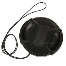 62mm Universal Snap-On Front Lens Cap for Canon Nikon Sony Sigma Pentax