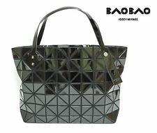 2015SS BAO BAO ISSEY MIYAKE ROCK BASICS Tote Bag Handbag Black 100% Authentic