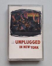 Nirvana - MTV Unplugged In New York - Cassette Album  Europe 1994