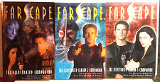 Farscape TV Series Illustrated Companion Vol 1-3 Reference Book Set of 3-UNREAD
