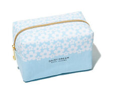 MARC BY MARC JACOBS DAISY DREAM STORAGE BAG BLUE COSMETIC BAG CANVAS BAG