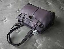 NWT COACH SLEEK & CLASSY CARLY LILAC CARRYALL LEATHER TOTE BAG PURSE SATCHEL WOW