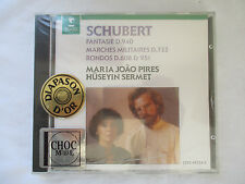 SCHUBERT WORKS FOR 2 PIANOS - MARIA JOAO PIRES & HUSEYIN SERMET CD  - BRAND NEW