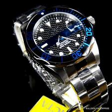 Mens Invicta Thin Blue Line Pro Diver Black Police Officer Steel 14702 Watch New