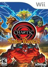 Chaotic: Shadow Warriors - Nintendo  Wii Game