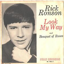 RICK RONSON--TOUGH TEEN PICTURE SLEEVE ONLY---(BOUQUET OF ROSES)--PS--PIC--SLV