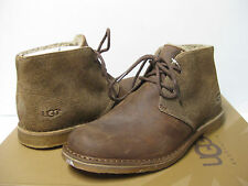 Ugg Leighton Bomber Jacket Chestnut Men Boots US10/UK9/EU43