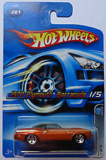 2006 Hot Wheels ~Mopar Madness~ 1970 Plymouth Barracuda 1/5 (Copper Version)