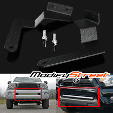 "FOR 05-15 TACOMA 30"" SINGLE/DOUBLE ROW LED LIGHT BAR HIDDEN BUMPER MOUNT BRACKET"