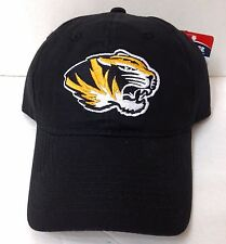 New MISSOURI TIGERS HAT Men/Women Relaxed-Fit/Dad-Cap Snapback OSFM Black Mizzou