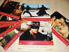 LE MASQUE DE ZORRO ! a banderas c zeta-jones jeu 8 photos cinema lobby cards