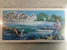 "~UNKNOWN, Rarely SOLD BOARD GAME-""Fish On Game""-1978-W.Kuriata~"