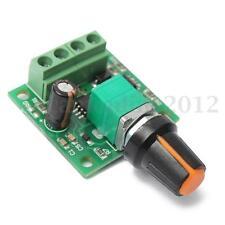 DC 1.8V 3V 5V 6V 12V 2A Regulador Voltaje  Controlador Velocidad PWM 1803B