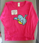 Girls Pink Organic Cotton Long Sleeve T-Shirt Ramo Size 2, 6 BNWT