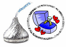 216 ENGAGEMENT PARTY FAVORS HERSHEY KISS LABELS
