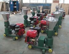 PELLET MILL 7,5 HP GASOLINE ENGINE PELLET PRESS 120 mm 100/150kg hr