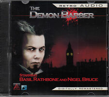 The Demon Barber Sherlock Holmes CD Audio Radio Drama Basil Rathbone Nigel Bruce