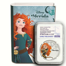 2016 Disney Princess Merida NGC PF69 Early Releases NIUE 1 oz Proof Silver Coin