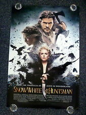 SNOW WHITE AND THE HUNTSMAN Original 2010s OS Movie Poster Charlize Theron