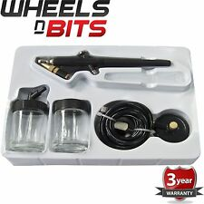 WNB Mini Air Brush Kit Design Work Craft Car Model Touch Up Spray Gun Auto Y1275