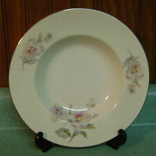 Atlas China Pansy Rimmed Soup Bowl