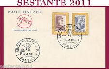 ITALIA FDC IL CAVALLINO 1974  FRANCESCO PETRARCA ANNULLO RAVENNA H155