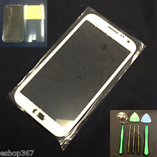 Replacement Screen Glass Lens Samsung Galaxy Note 2 N7100 +Tools White