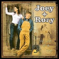 Joey + Rory - Life Of A Song [CD New] Cancer Cheater Music Country