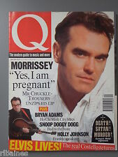 Q Music Magazine April 1994, Morrissey/Level 42/Wonder Stuff/Snoop Dog