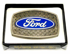 Ford Belt Buckle Car Truck Vehicle Spec Cast Officially Licensed Collectible