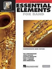 Essential Elements for Band - Book 2 with EEi: Bb Tenor Saxophone by , Good Book