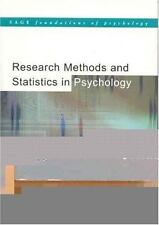 Research Methods and Statistics in Psychology (SAGE Foundations of Psychology