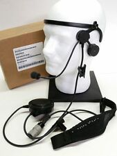 Thales Racal Acoustics Commercial Lightweight MBITR Headset NEW 1600551-2 NSN
