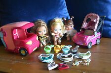 RARE - BABY BRATZ LARGE BUNDLE HORSEBOX PRAM LOADS ACCESSORIES