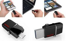 Sandisk 128GB Dual USB Drive/ OTG (USB 3.0 and micro USB for android phones)