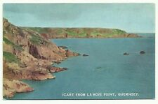 Icart from La Move Point, Guernsey postcard