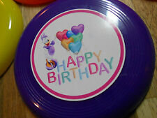 12 DAISY DUCK mini frisbees birthday party favor, treat bags, prizes, DISNEY