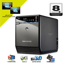 Mediasonic 4 Bay 3.5 Inch SATA HDD Enclosure - USB 3.0 & eSATA HF2-SU3S2