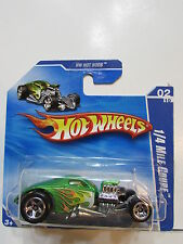 HOT WHEELS 2010 #02/10 1/4 MILE COUPE - HW HOT RODS SHORT CARD